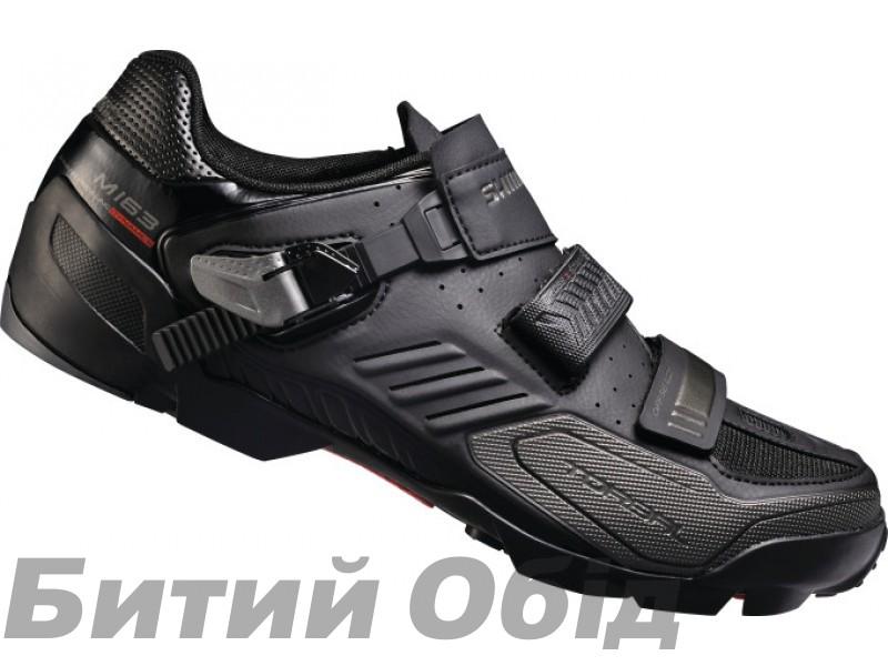 Велообувь  Shimano M163-L, черн