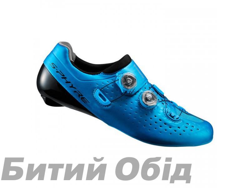 Велообувь Shimano RC9-B S-PHYRE, синие, белые фото, купить, киев, запорожье