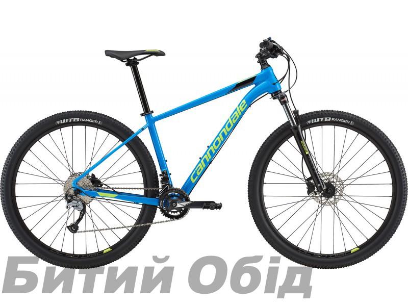 Велосипед 29 Cannondale Trail 6 SPB синий с салатовым 2018 фото, купить, киев, запорожье