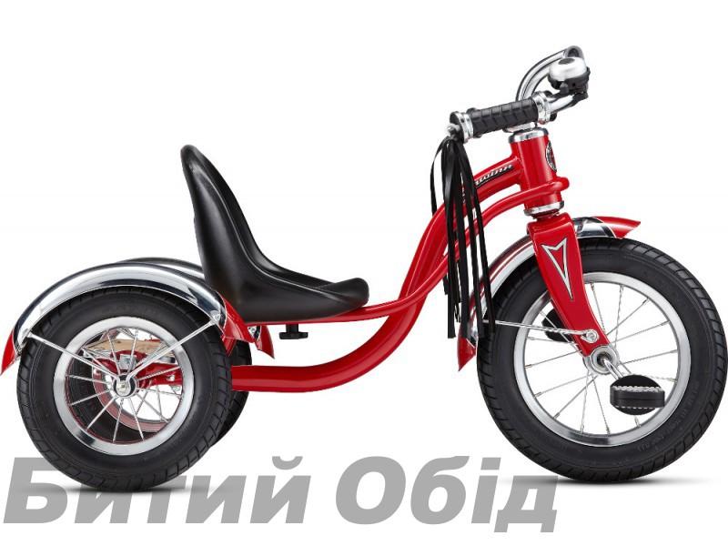Велосипед 12 Schwinn Roadster Trike трехколесный красный 2017 фото, купить, киев, запорожье