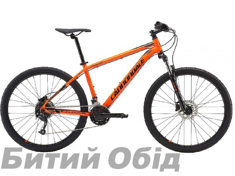 Велосипед 27,5 Cannondale Catalyst 2 ORG оранжевый 2018, размер X фото, купить, киев, запорожье