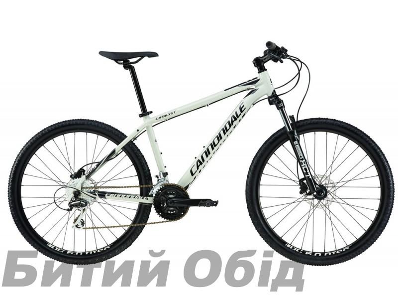 Велосипед 27,5 Cannondale CATALYST 2 2017 PRM серо-белый, размер X фото, купить, киев, запорожье