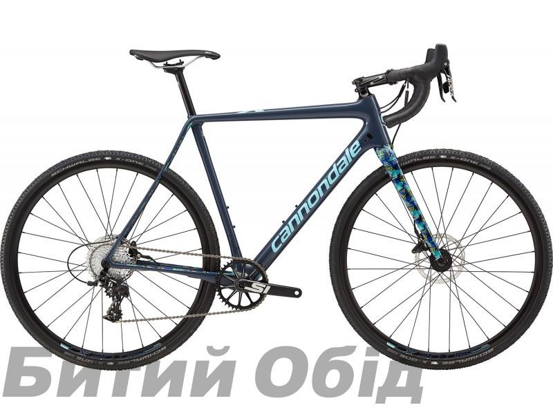 Велосипед 28 Cannondale SuperX Apex 1 SLA серо-синий 2018 фото, купить, киев, запорожье