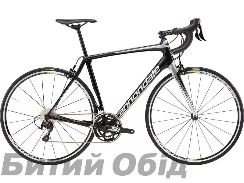 Велосипед 28 Cannondale Synapse Carbon 105 SLV чёрно-серебристый 2018 фото, купить, киев, запорожье