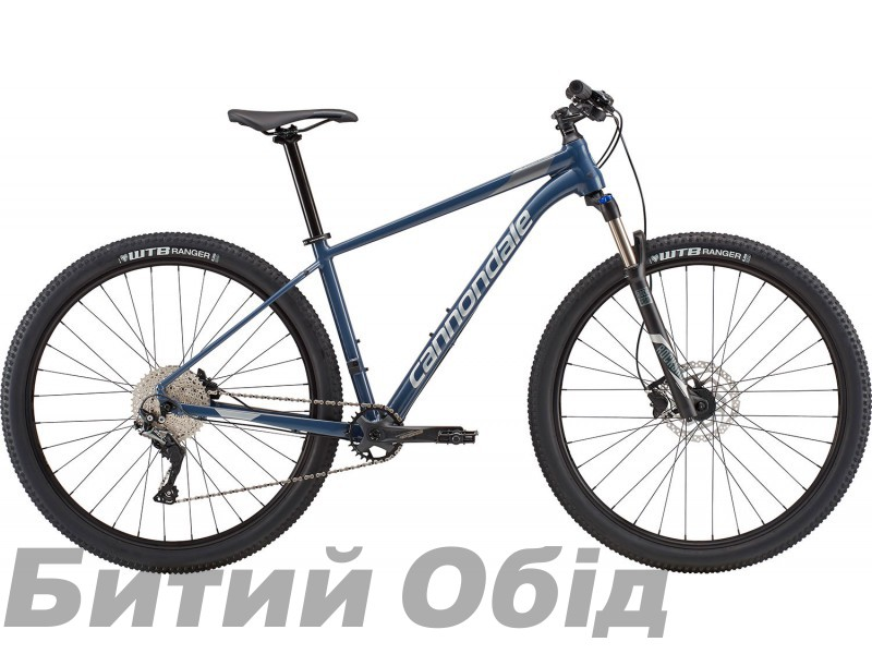 Велосипед 29 Cannondale Trail 4 SLA серо-синий 2018 фото, купить, киев, запорожье