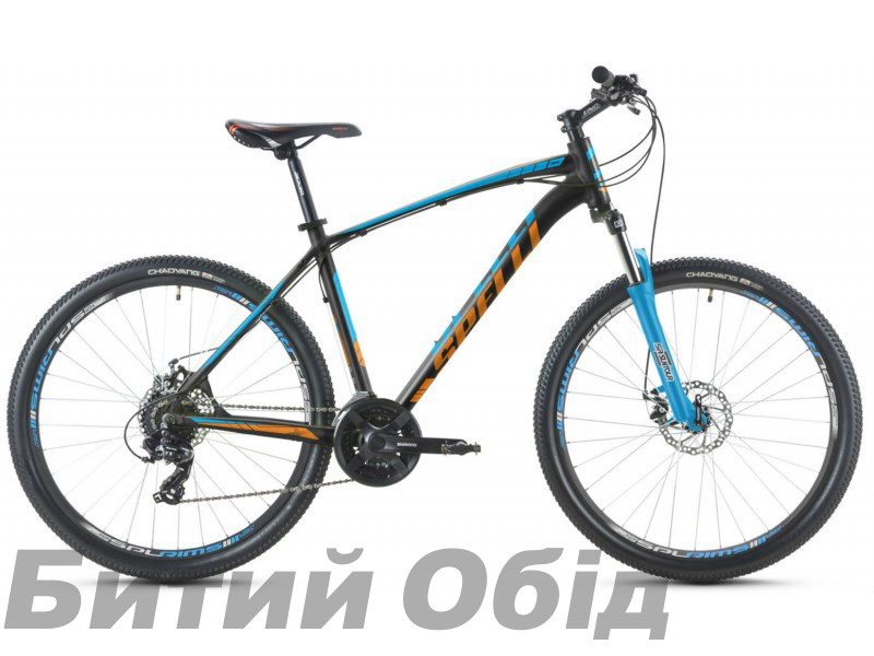Велосипед Spelli SX-2700 27,5 2017 года фото, купить, киев, запорожье