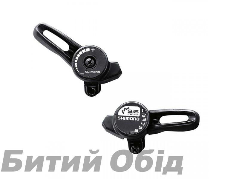Шифтеры Shimano Tourney SL-TZ20 3-6 ск. + тросик, пара