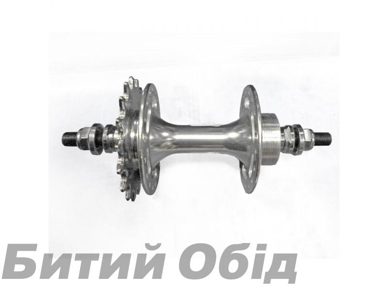 Втулка задняя Quanta KT-DP6 R 2SB 36H Fix серебристая фото, купить, киев, запорожье