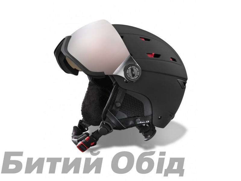 JULBO ШЛЕМ NORBY VISOR BLACK, размер 56/58 cm фото, купить, киев, запорожье