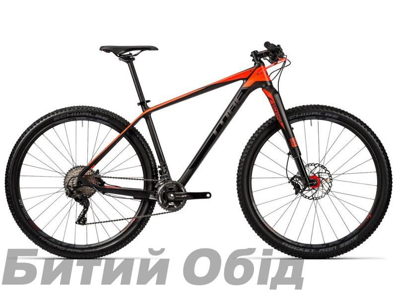 Велосипед Cube Reaction GTC SLT 2x (carbon´n´flashred) 2017 фото, купить, киев, запорожье
