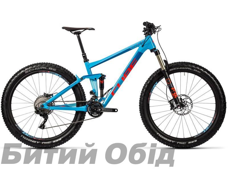 Велосипед Cube Stereo 150 HPA SL 27.5+ Farbe 1 (2016 год) фото, купить, киев, запорожье