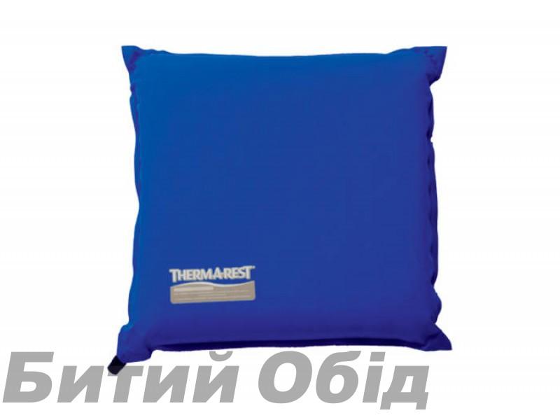 Самонадувающаяся сидушка Thermarest Camp Seat Nautical Blue фото, купить, киев, запорожье