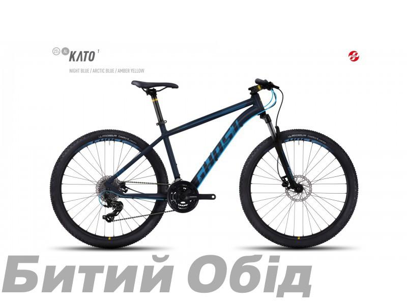 Велосипед GHOST Kato 1 AL 27.5 (2017 год) фото, купить, киев, запорожье