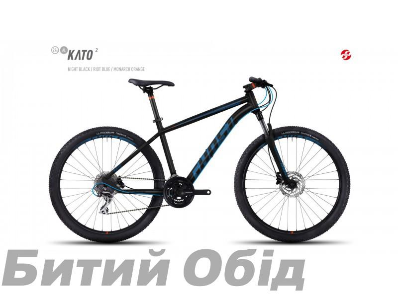 Велосипед GHOST Kato 2 AL 27.5 (2017 год) фото, купить, киев, запорожье