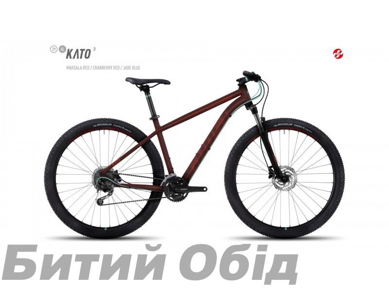 Велосипед GHOST Kato 3 AL 29 (2017 год) фото, купить, киев, запорожье