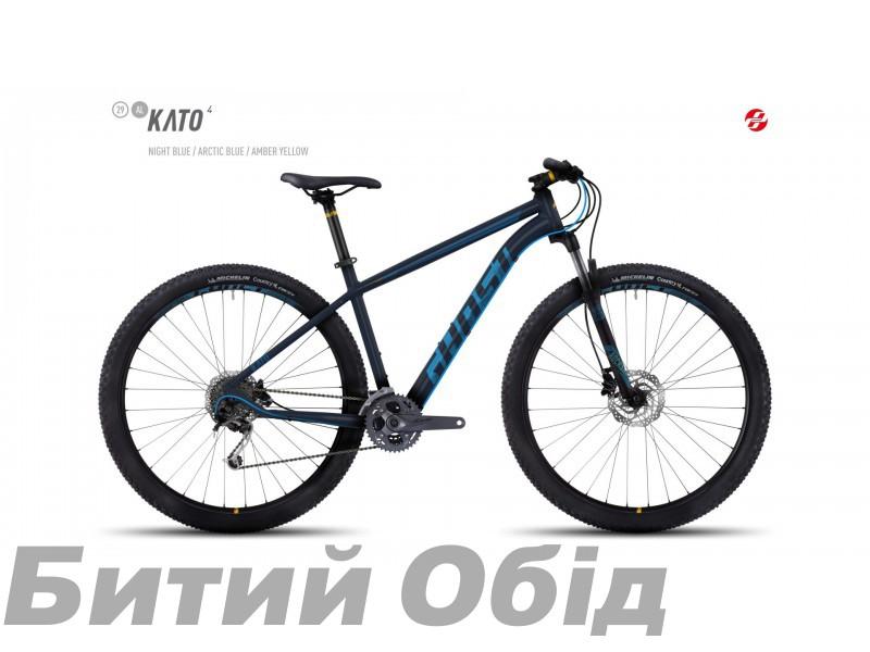 Велосипед GHOST Kato 4 AL 29 (2017 год) фото, купить, киев, запорожье