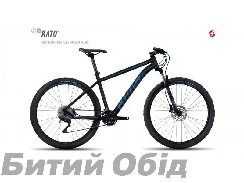 Велосипед GHOST Kato 5 AL 27.5 (2017 год) фото, купить, киев, запорожье