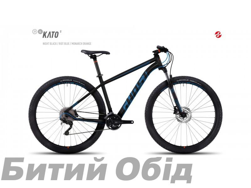 Велосипед GHOST Kato 5 AL 29 (2017 год) фото, купить, киев, запорожье