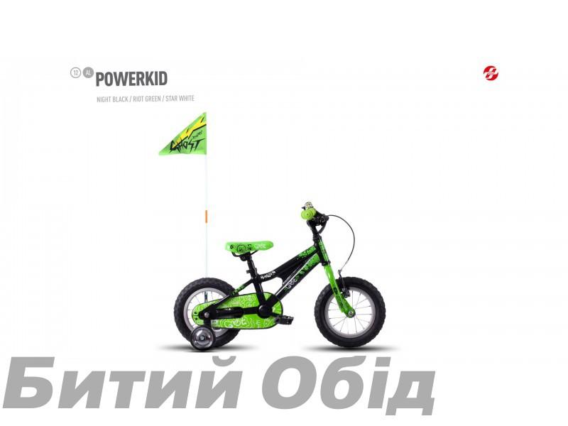 Детский велосипед Ghost Powerkid 12 (2016 год) фото, купить, киев, запорожье