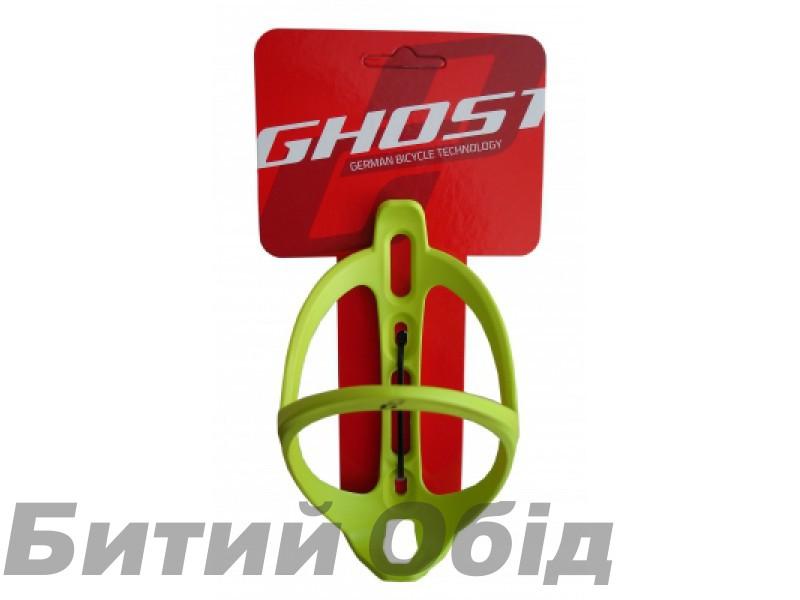 Флягодержатель GHOST Waterbottle Cage Riot (green) фото, купить, киев, запорожье