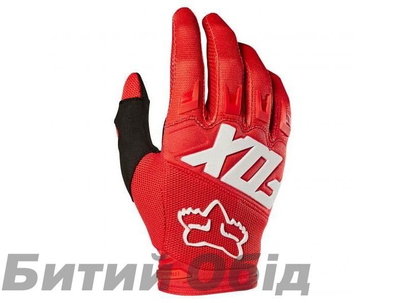 Вело перчатки FOX DIRTPAW RACE Glove красные фото, купить, киев, запорожье