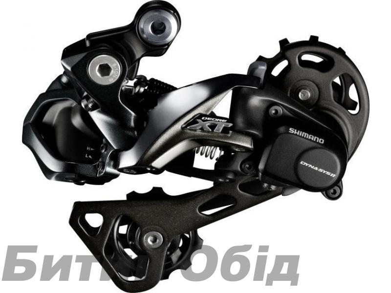 Переключатель задний Shimano Deore XT Di2 RD-M8050 Shadow + 11 скоростей средний рычаг фото, купить, киев, запорожье
