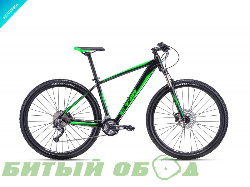 Велосипед CTM Rambler 2.0 (black/green) 2018 года