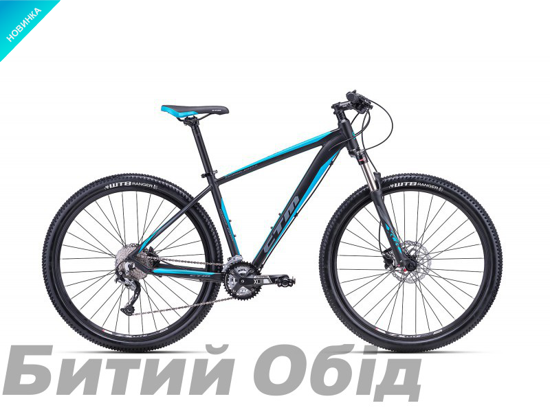 Велосипед CTM Rambler 2.0 (matt black/blue) 2018 года