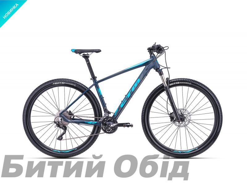 Велосипед CTM Rascal 1.0 (matt petroleum/light blue) 2018 года