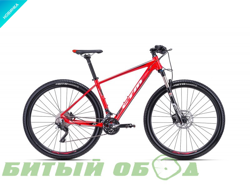 Велосипед CTM Rascal 1.0 (red/black) 2018 года