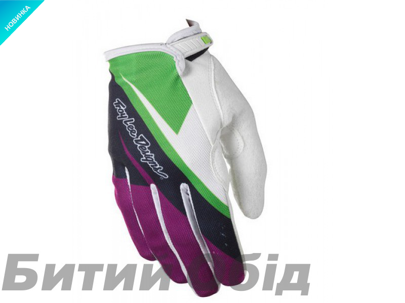 Вело перчатки TLD ACE glove [purple green]