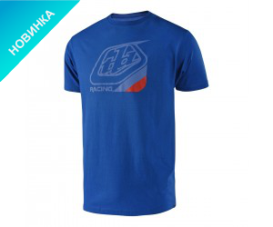 Футболка TLD Precision tee (vivid blue/red)
