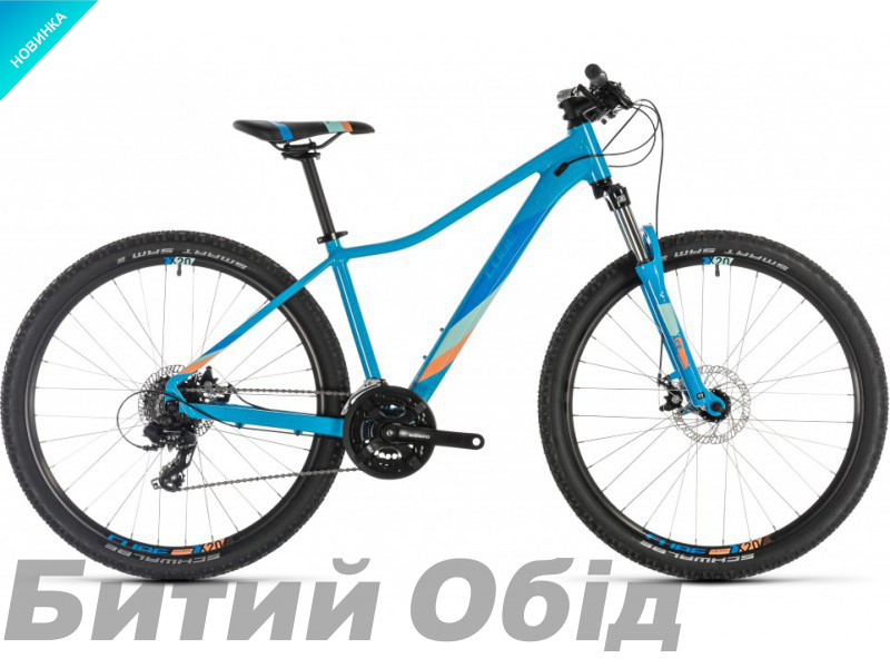 Велосипед Cube ACCESS WS 29 (reefblue´n´apricot) 2019 года