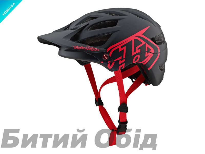 Вело шлем TLD A1 Drone [Black / Red]