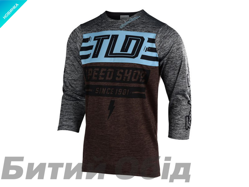 Джерси TLD Ruckus Jersey BOLT [HEATHER DARK MOKA / HEATHER GRAY]
