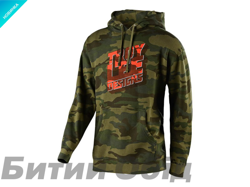 Худи TLD Block Party Pullover [FOREST CAMO]