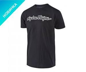 Футболка TLD SIGNATURE Tee (Black)