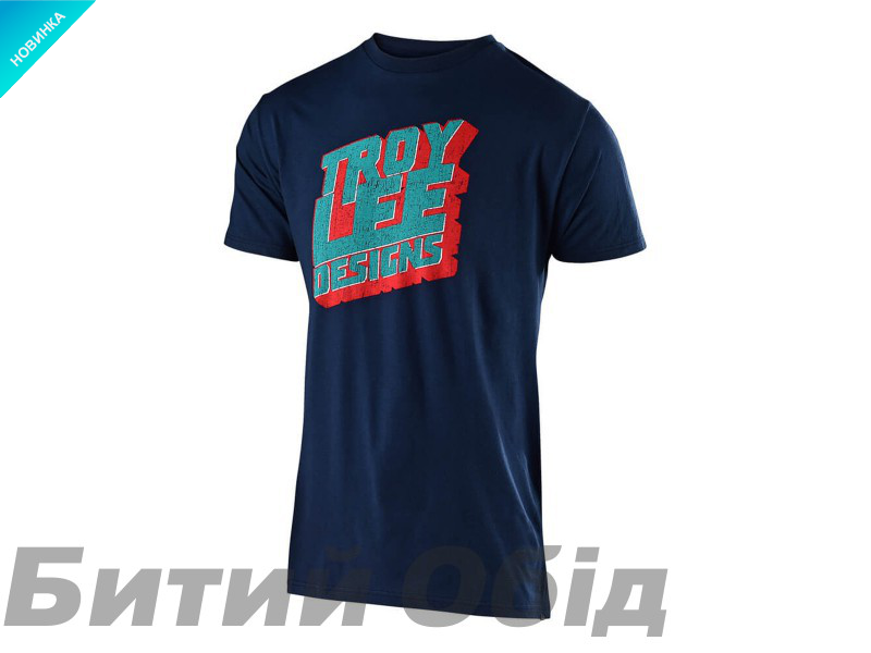 Футболка TLD BLOCK PARTY Tee (New Navy)