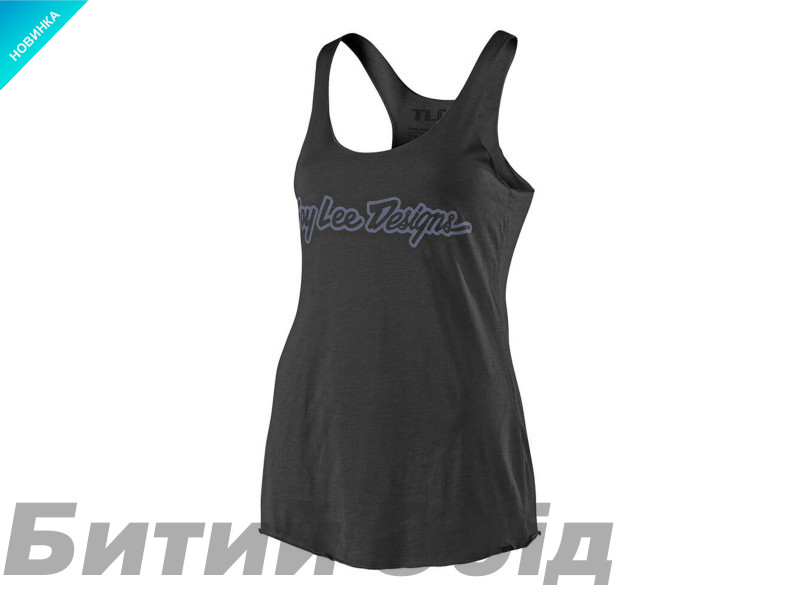 Футболка TLD WMNS Signature Tank (Black/Gray)