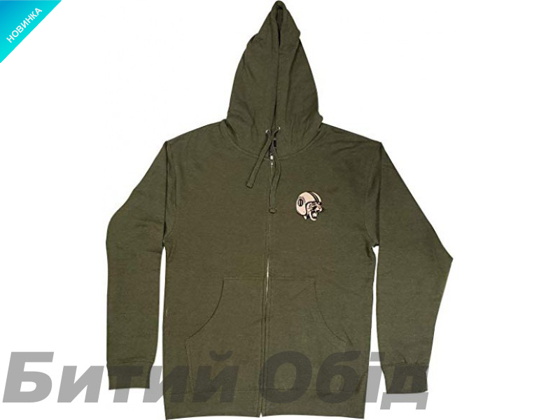 Худи TLD MAD Kitty ZIP UP [ARMY HTR]