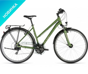 Велосипед Cube Touring (green´n´silver) Trapeze 2019