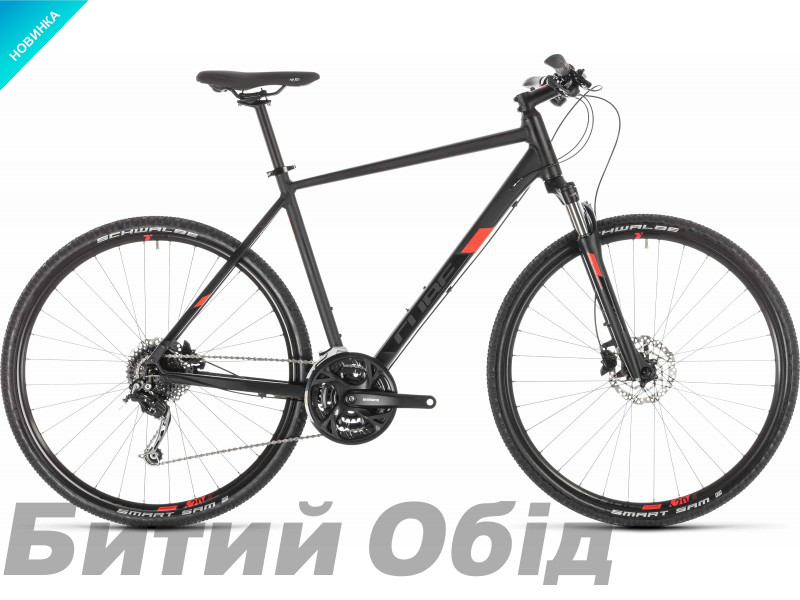 Велосипед Cube Nature Pro (black´n´red) 2019