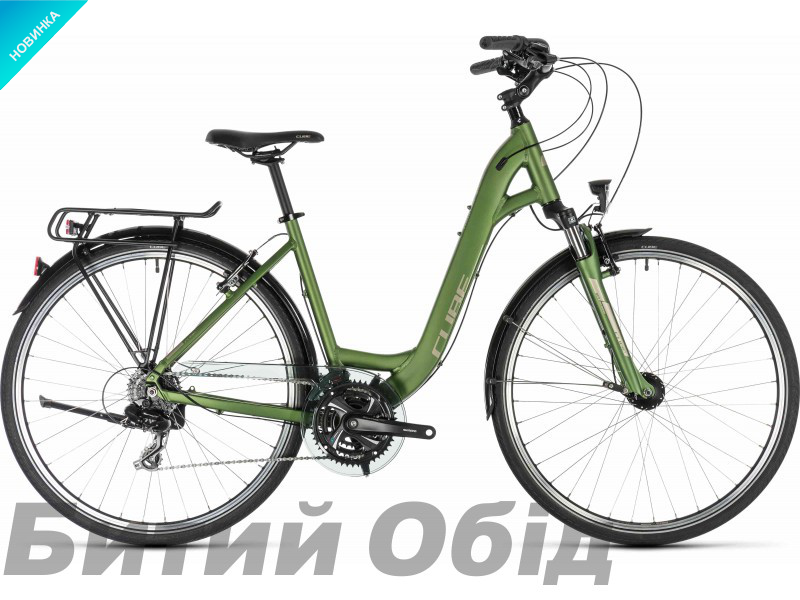 Велосипед Cube Touring (green´n´silver) Easy Entry 2019