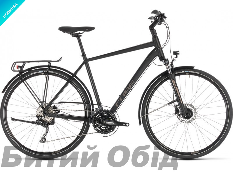 Велосипед Cube Touring EXC (black´n´brown) 2019