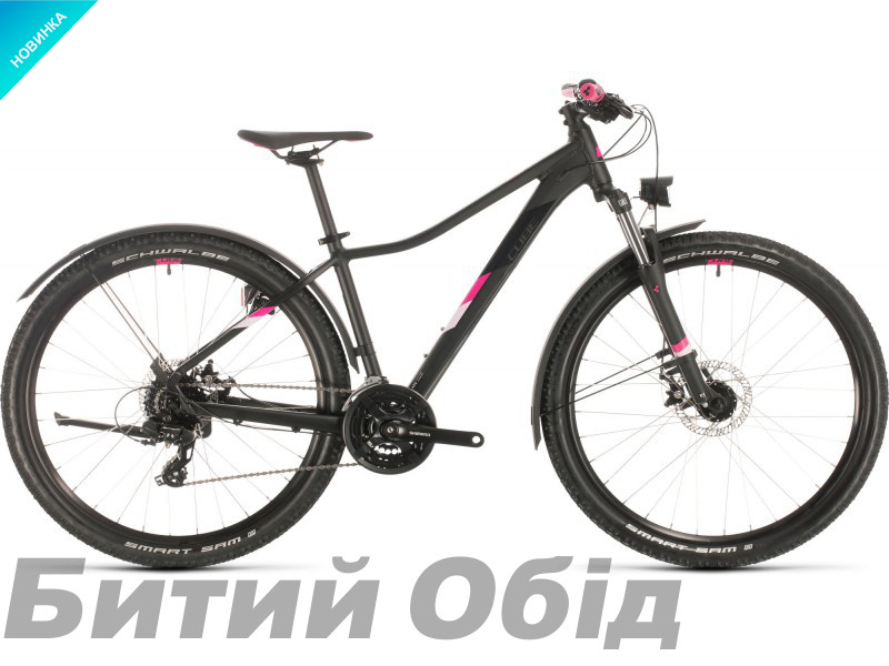 Велосипед Cube ACCESS WS ALLROAD 29 (black´n´berry) 2020