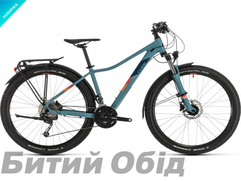 Велосипед Cube ACCESS WS PRO ALLROAD 27.5 (greyblue´n´apricot) 2020