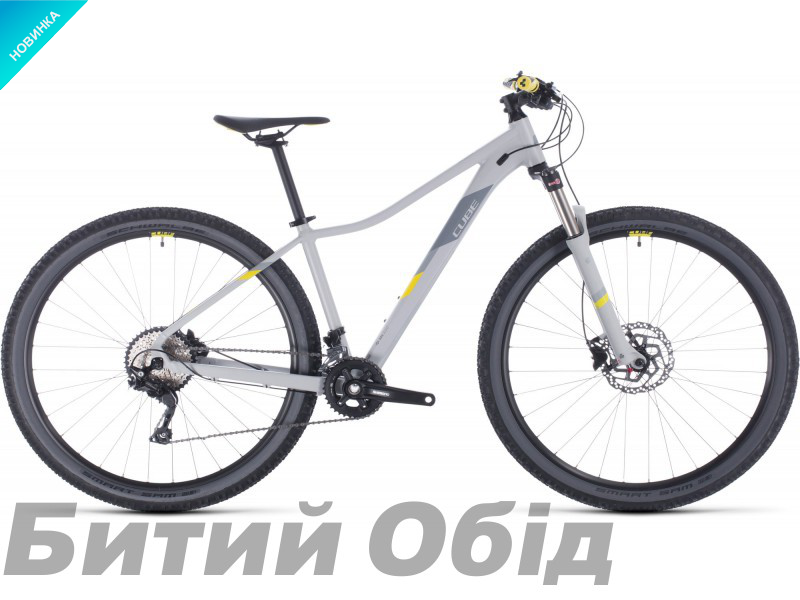 Велосипед Cube ACCESS WS RACE 27.5 (grey´n´lime) 2020