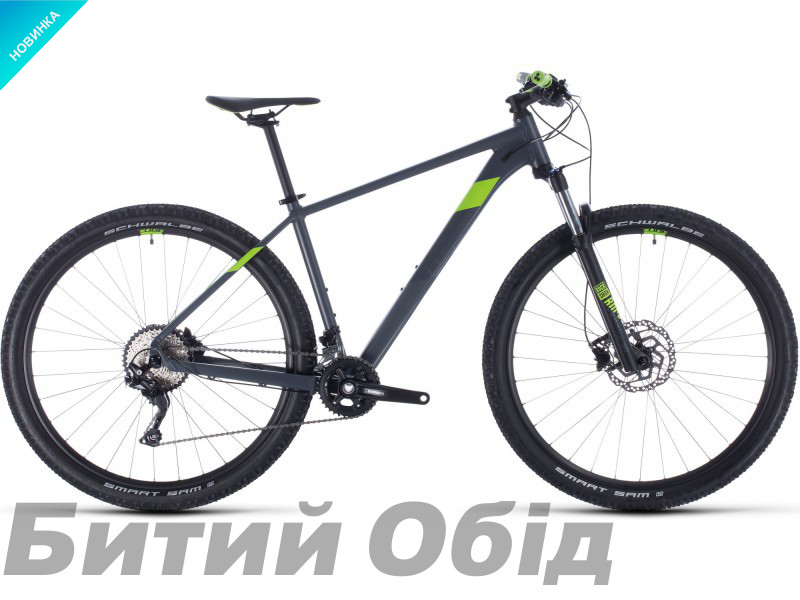 Велосипед Cube ATTENTION 27.5 (grey´n´green) 2020