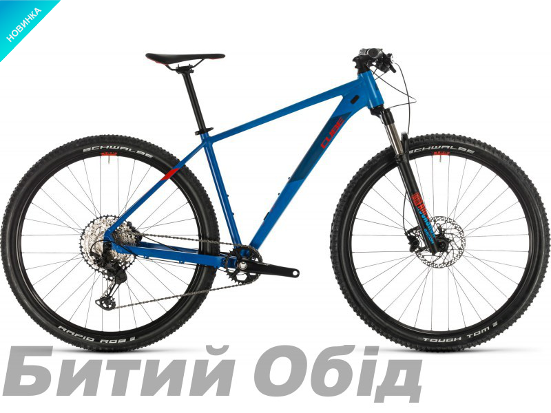 Велосипед Cube REACTION PRO 27.5 (blue´n´red) 2020